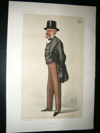 Vanity Fair Print: 1881 Earl of Lucan, Crimea